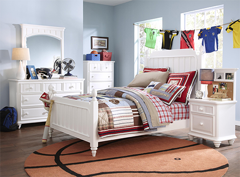 Campbell Twin Bed at Belfort Furniture