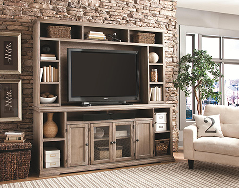 Canyon Creek Wall Unit at Belfort Furniture
