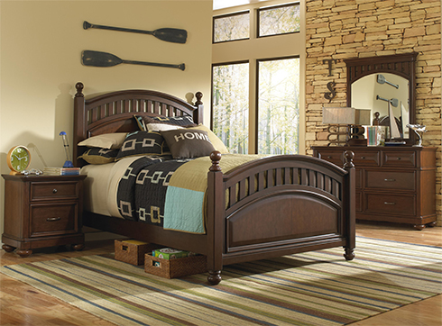 Griffin Twin Bed at Belfort Furniture