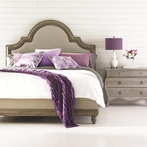 HGTV Caravan Upholstered Bed at Belfort Furniture