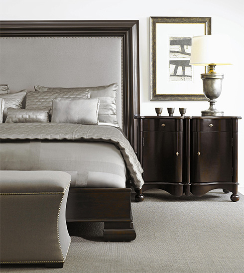 Hudson Upholstered Bed by Bernhardt at Belfort Furniture