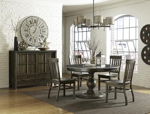 Karlin Bluestone Dining Table at Belfort Furniture