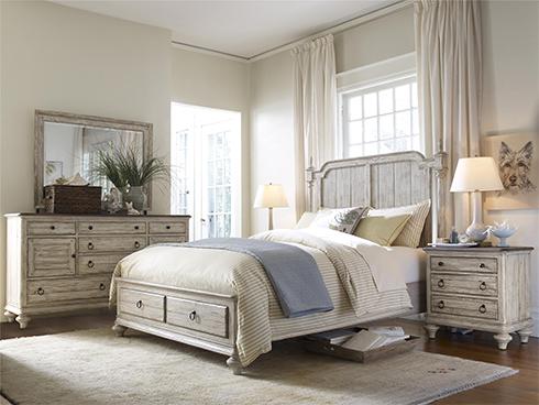 Weatherford Cornsilk Bedroom at Belfort Furniture