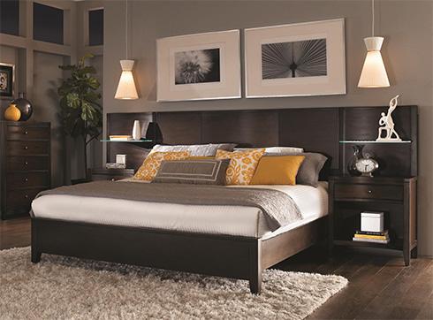 Aspenhome Contour Bookcase Bed at Belfort Furniture