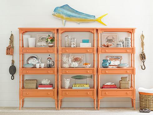 Coastal Living Retreat Spanish Orange