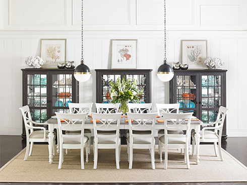 Coastal Living Retreat Two Toned Dining Set