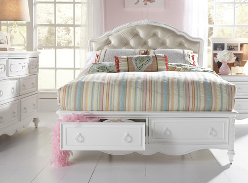 Eleanor Storage Bed at Belfort Furniture