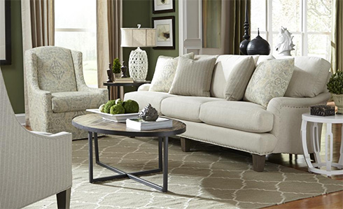 Ellie Sofa Made in the Usa at Belfort Furniture