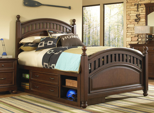 Griffin Storage Bed at Belfort Furniture