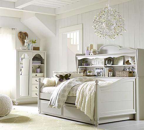 Inspirations Bookcase Daybed at Belfort Furniture
