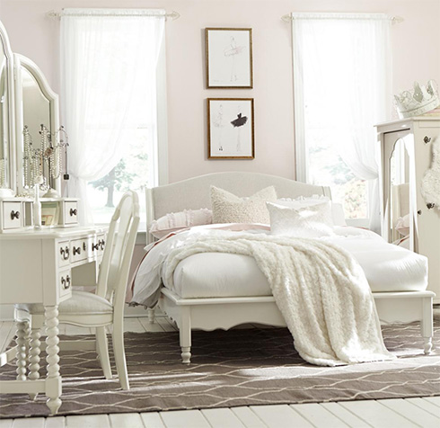 Inspirations Upholstered Bed at Belfort Furniture