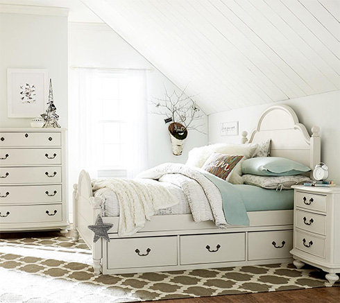 Inspirations White Kids Furniture at Belfort Furniture