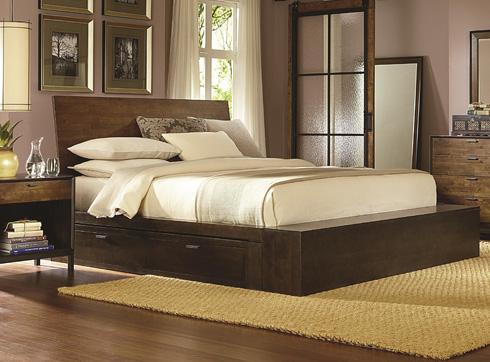 Kateri Storage Bed at Belfort Furniture
