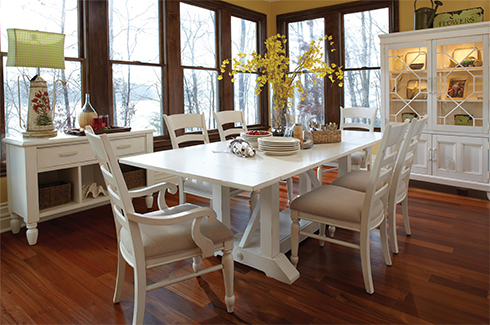 Sea Breeze Dining Room at Belfort Furniture