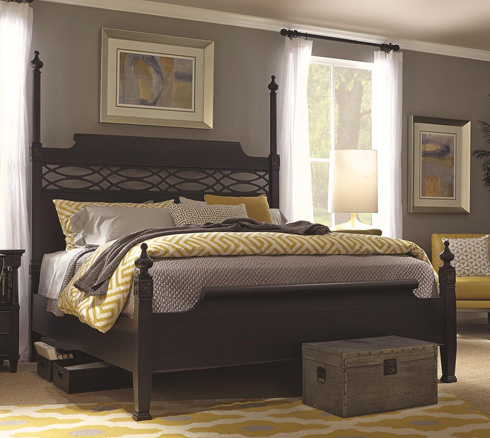 Young Classics Poster Bed at Belfort Furniture
