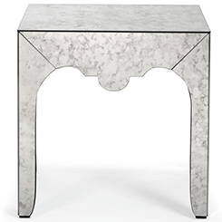 Bernhardt Mirrored Table at Belfort