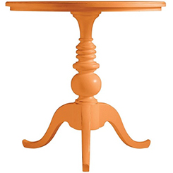 Coastal Living Orange Table at Belfort