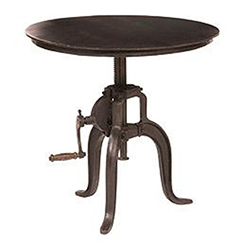 Four Hands Crank Table at Belfort