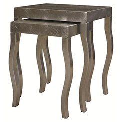 HGTV Silver Leaf Table at Belfort