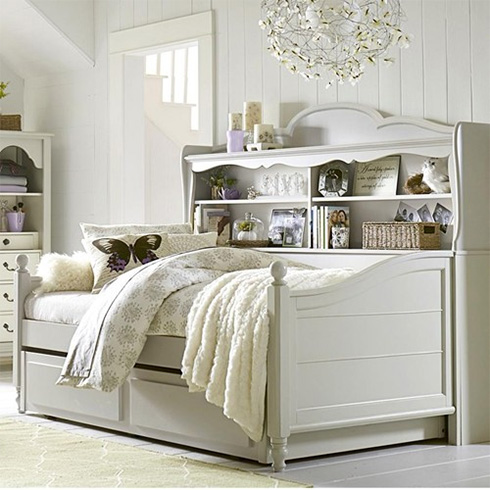 Inspirations Storage Bookcase Daybed at Belfort