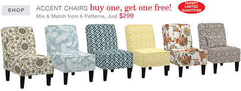 Accent Chairs at Belfort