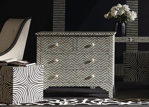Herringbone Chest at Belfort Furniture