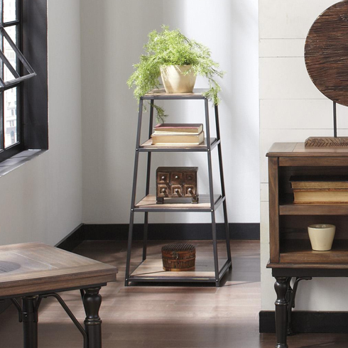 Tripton Industrial Bookcase at Belfort