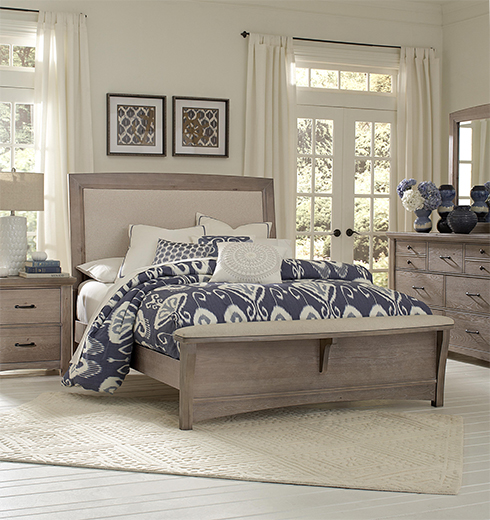 Transitions Driftwood Bed at Belfort