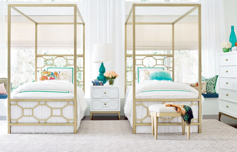 Chelsea Collection Twin Canopy Bed.png