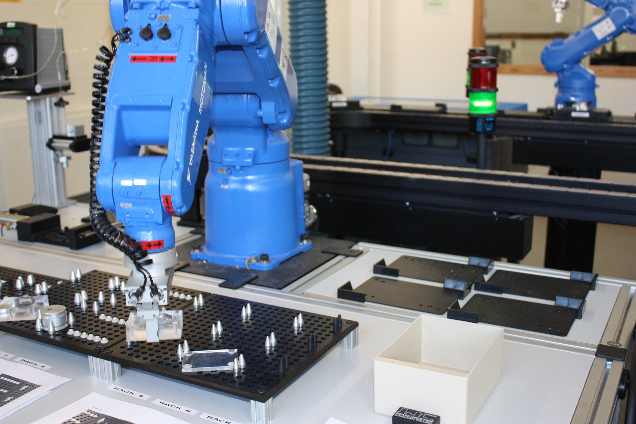 Credit  Manchester Community College Automation and Robotics