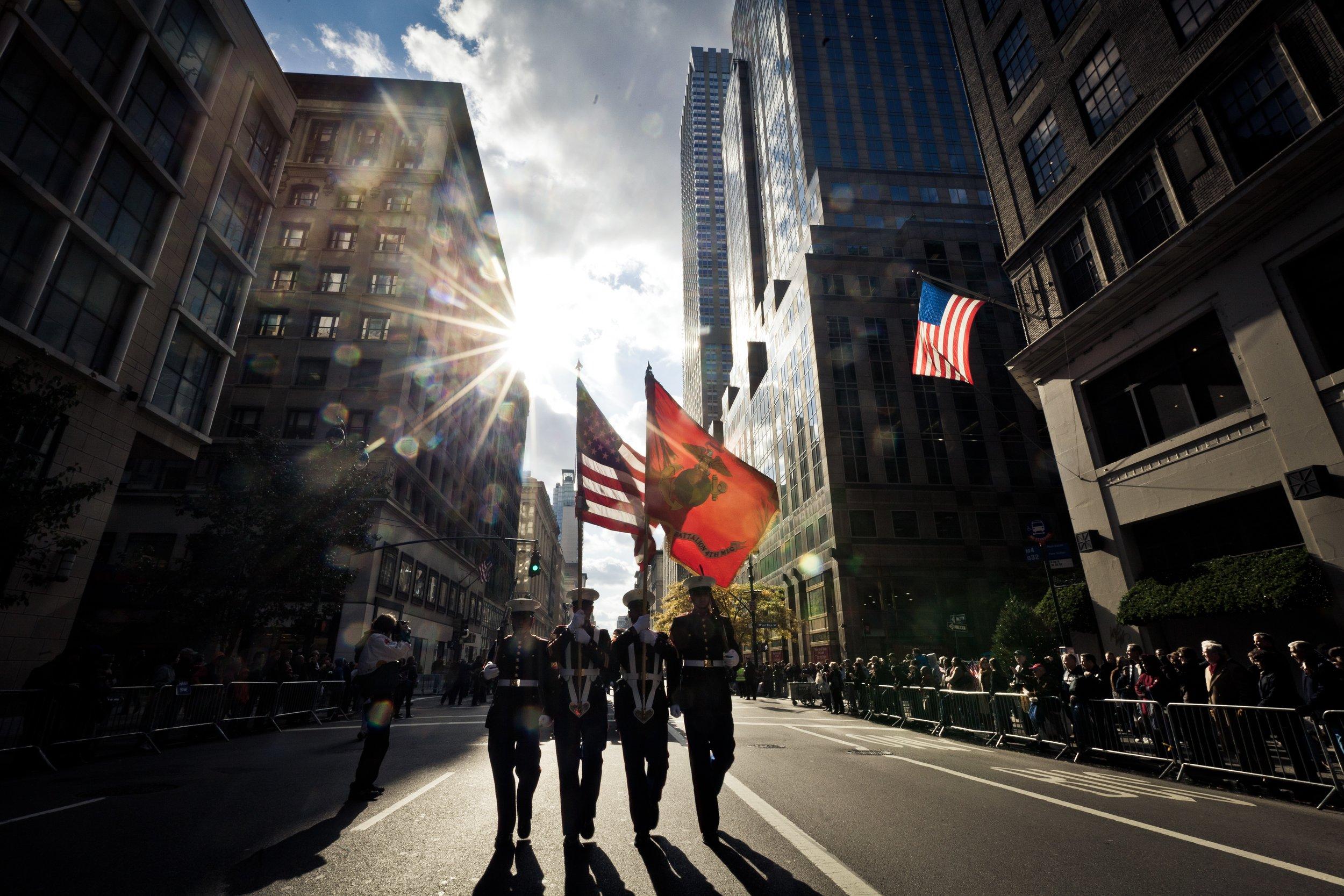 Credit  Marine Corps New York
