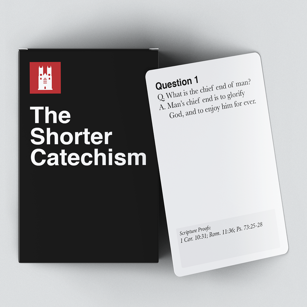 246 backers pledged $9,811 to help bring The Shorter Catechism Deck to life. - Thank you for your support!