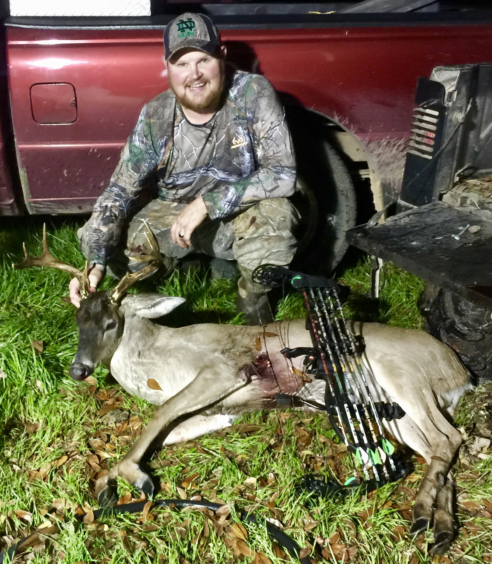Willard Davis Jr. of Milton was fishing private land near the Yellow River management area when he nabbed this whitetail Feb. 23. The 8-point swamp buck weighed 142 pounds with a 15.5-inch inside spread. The kill is his biggest Florida deer to date.