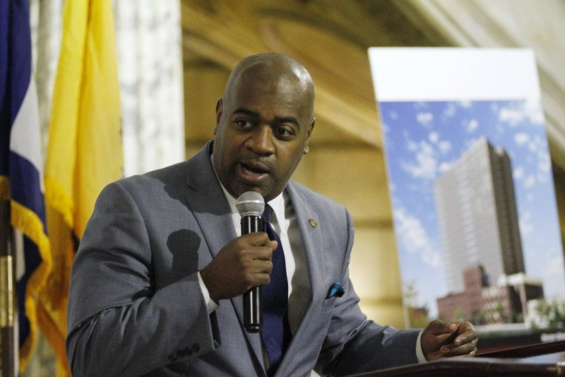 Baraka and Shaq announce the 'Impact Newark' jobs program -
