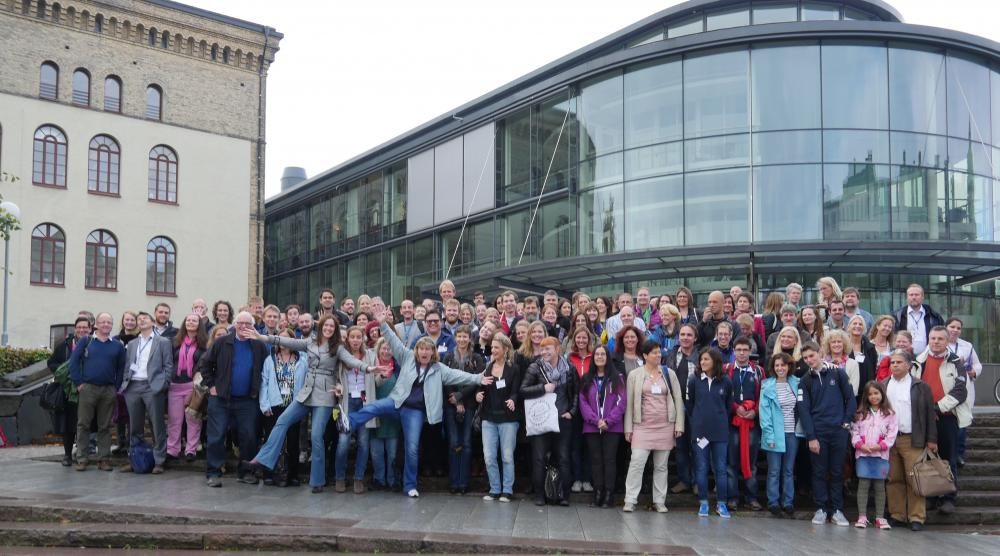The 130 attendees of the 2nd EMSEA conference
