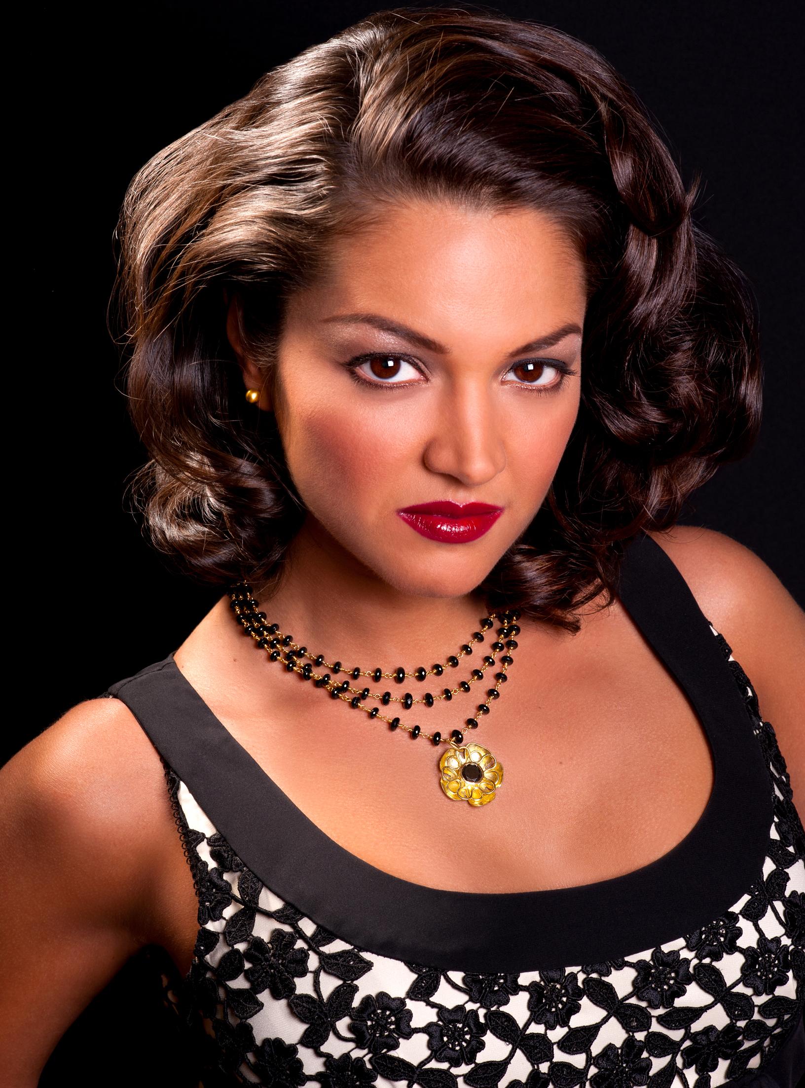 Paula in black diamond necklace.jpg