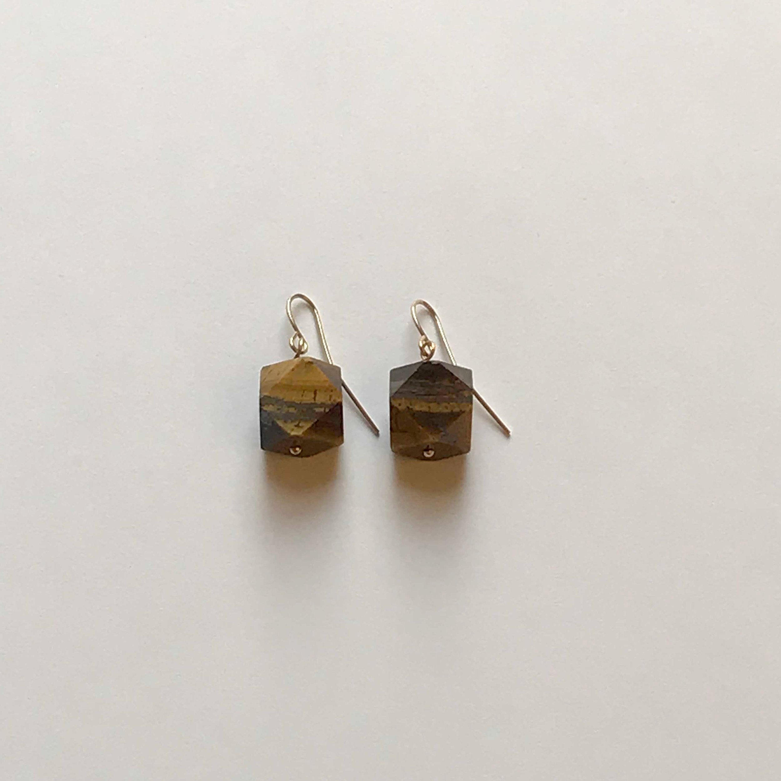 $50 Gold Filled Tigereye Earrings