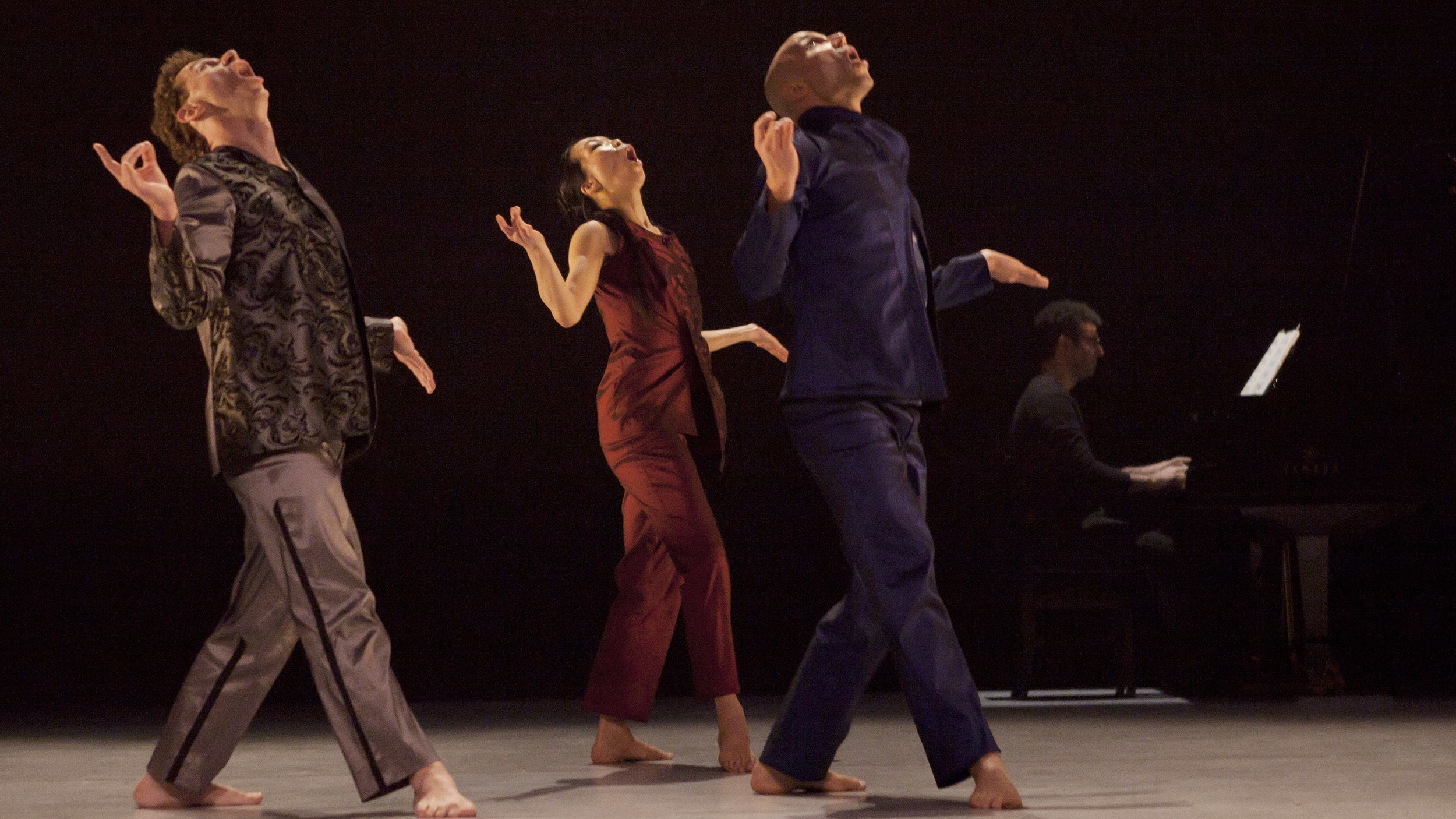 Piano/Quartet - Piano/Quartet sets four superb dancers in motion, translating – as choreography – a series of striking and complex poems by John Cage, based on quotations by the painter Jasper Johns.Presenters with a password may view the full length video here.