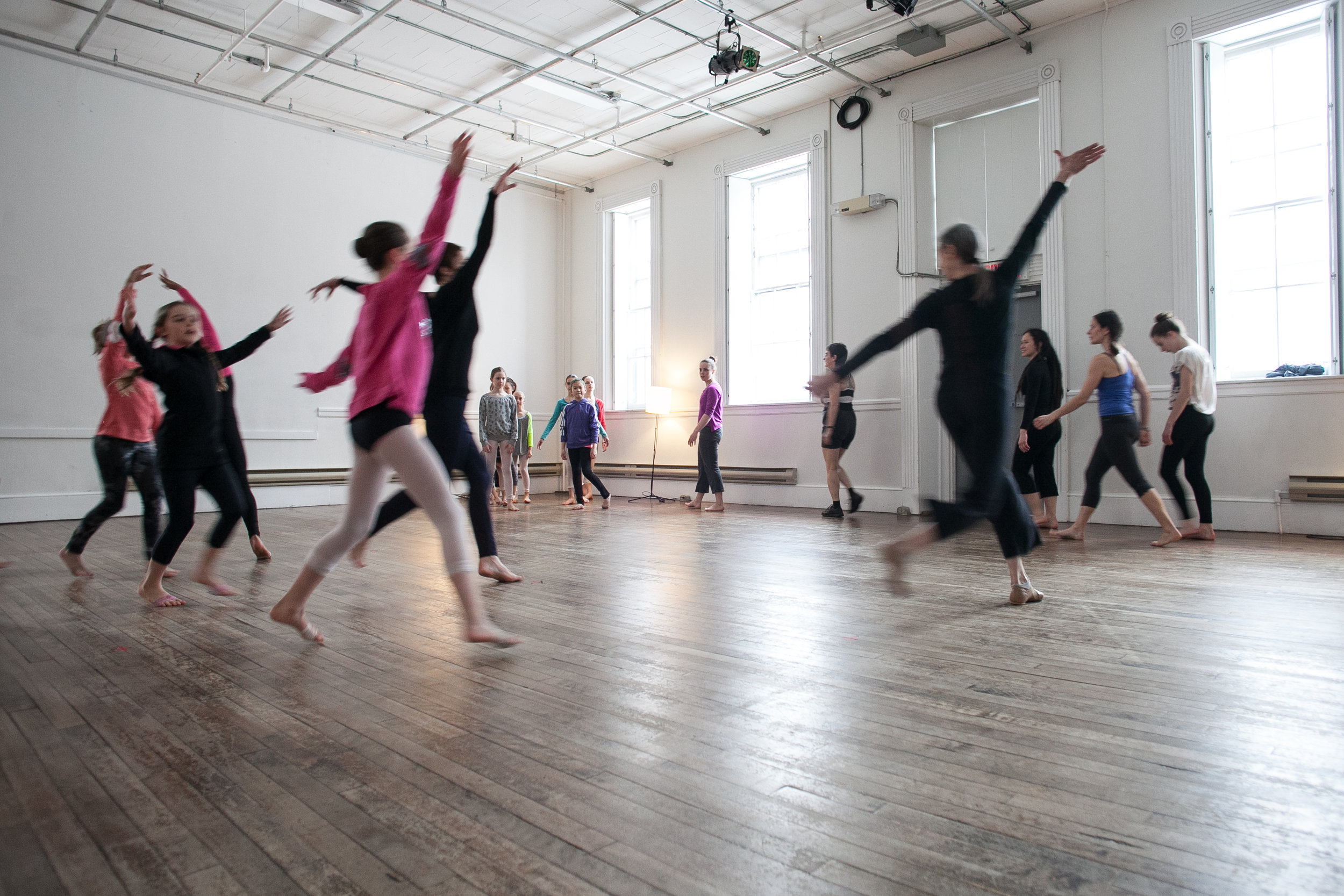 Modern Moves made easy - This is the title of an all-ages, no-experience-required, everybody-welcome dance class that Peggy can lead while in residence in your community.