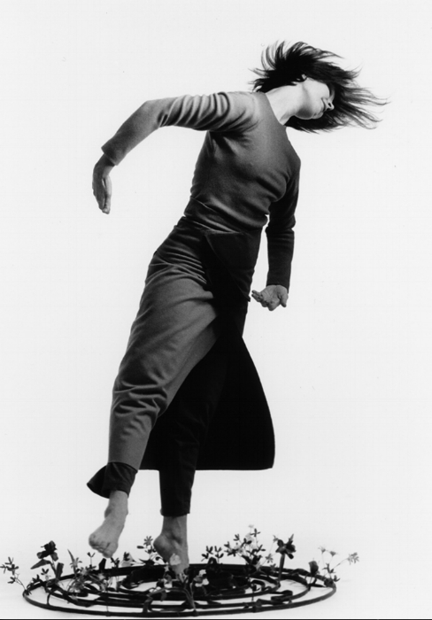 Sarah in  Garland , 1997. Choreographed by Peggy. Photo by Cylla von Tiedemann