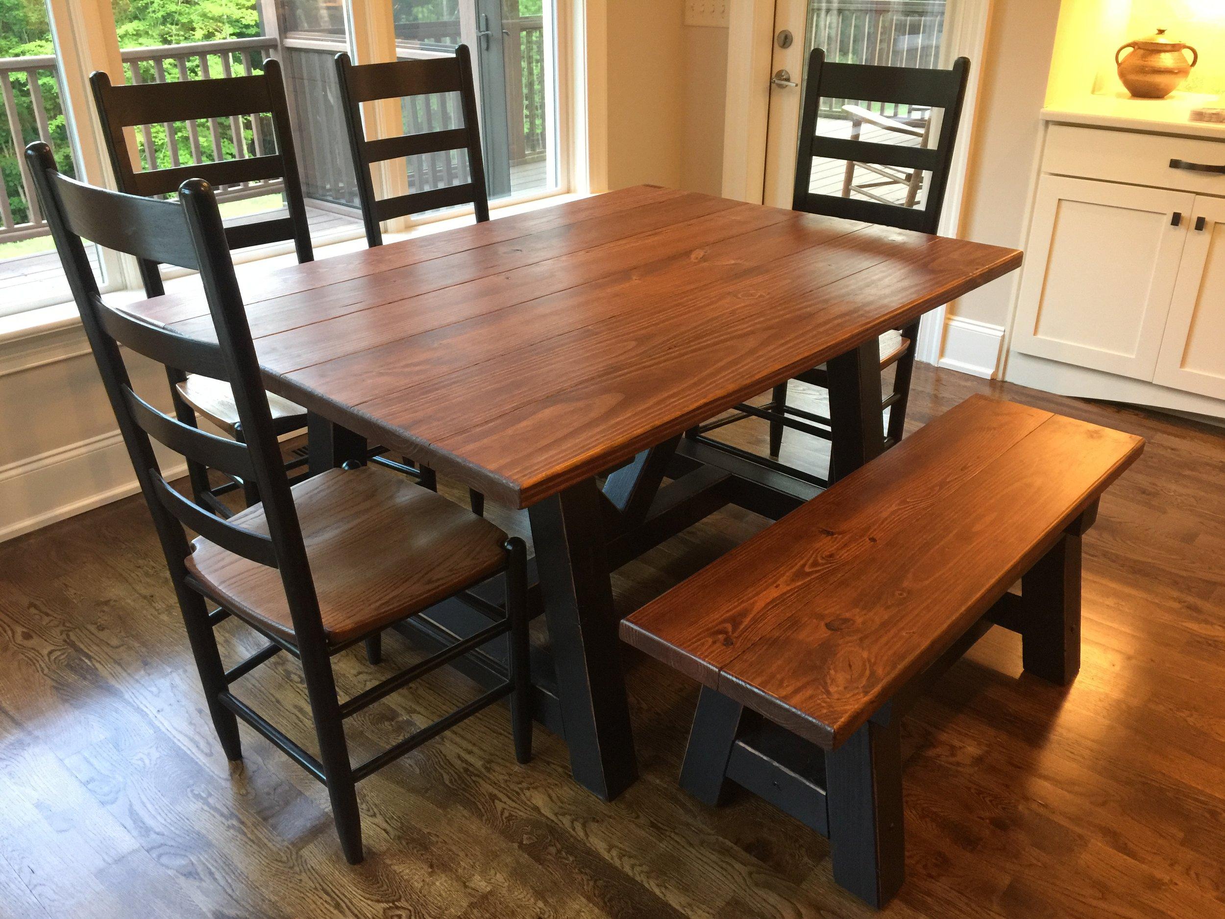 Custom-Made Farm Tables -
