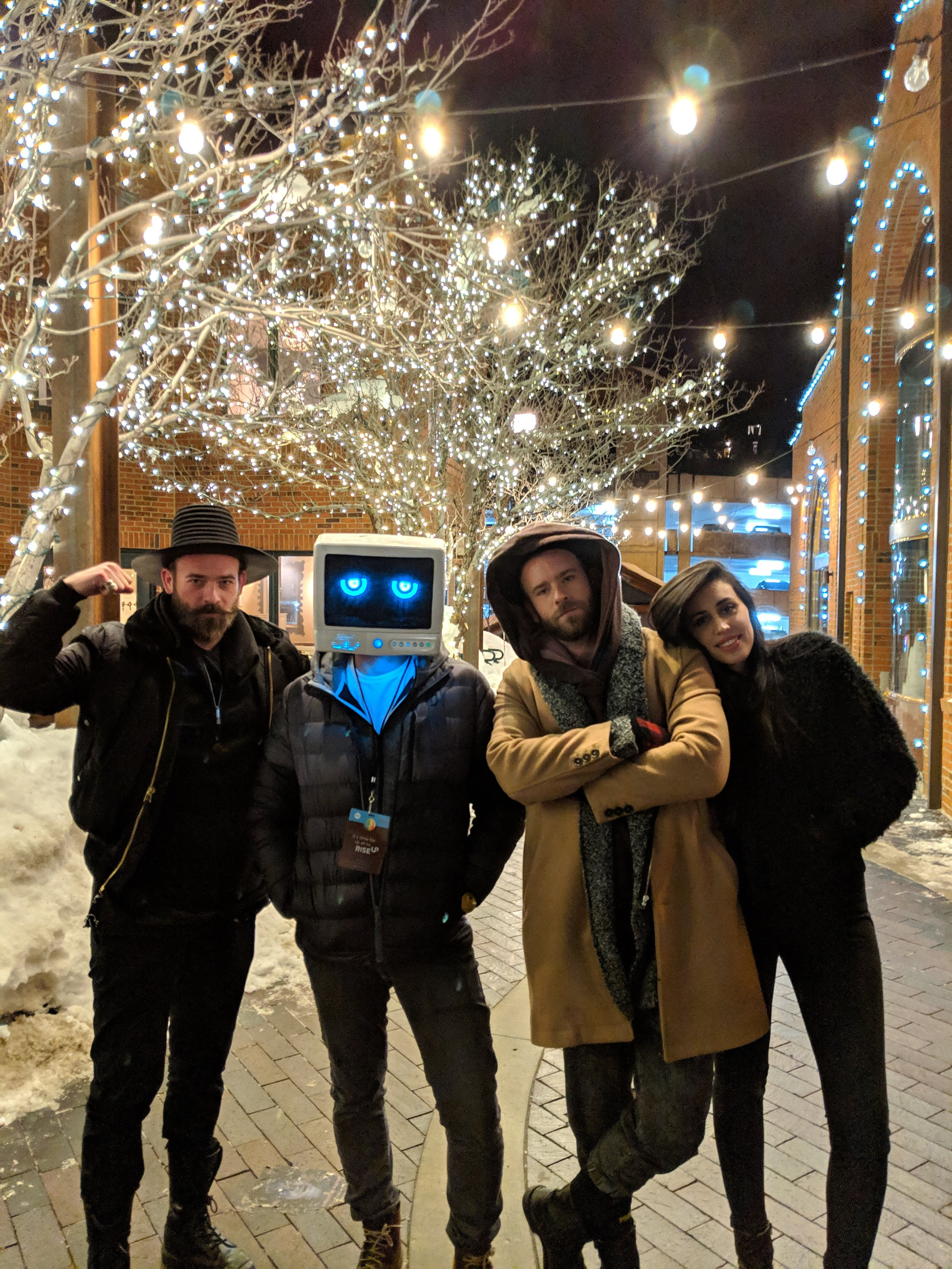 Robot Dream with some filmmakers during Sundance 2019