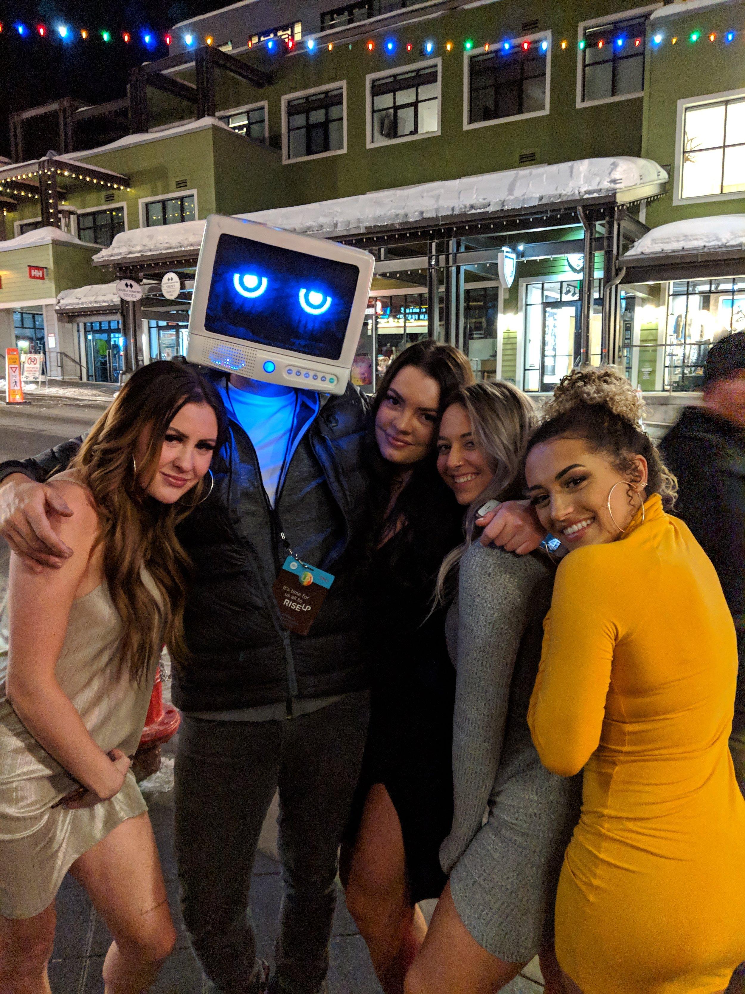 DJ Robot Dream during Sundance 2019