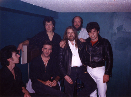 In the mid eighties, when he was in the rock band the Raindogs, Johnny often came into the Sunday sessions on Batterymarch St. in the financial district of Boston, which at the time was only one of two sessions in town. It began quietly and then in a year grew to a great eclectic gathering of accomplished musicians. Johnny sometimes stopped in just for a listen and a pint, but a few times when the session was particularly rocking, he would be hit with the urge and fly off home and back to retrieve his fiddle (a trip that took a total of 40 minutes)...