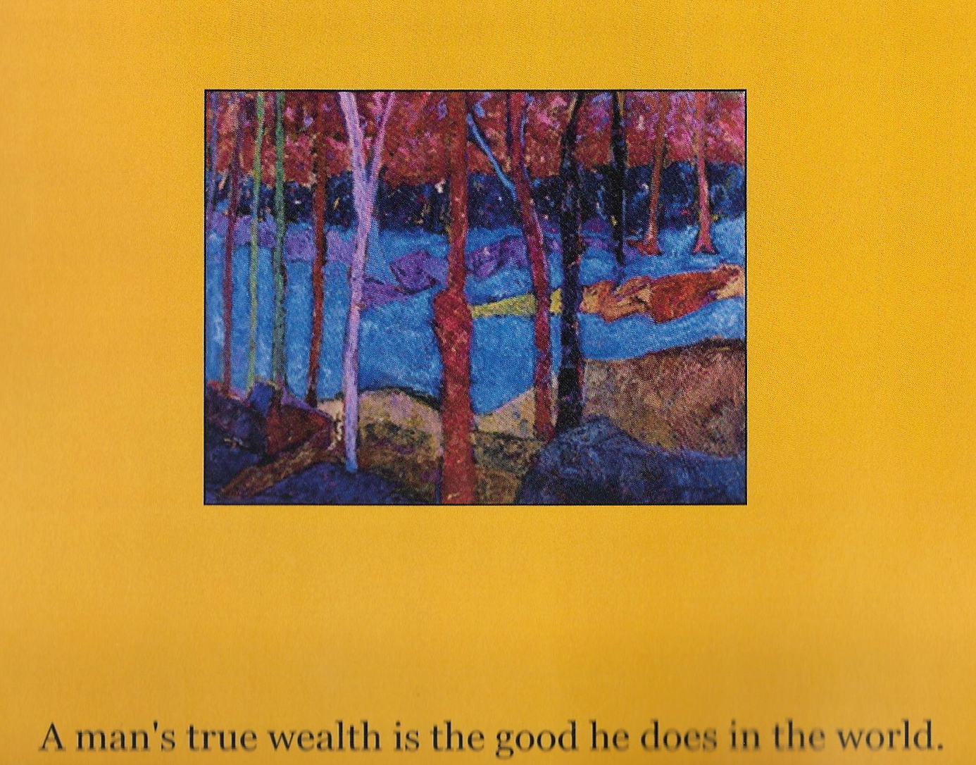 From the book by Caron Cicero McCormick, on Renee Maloof McCormick's paintings.