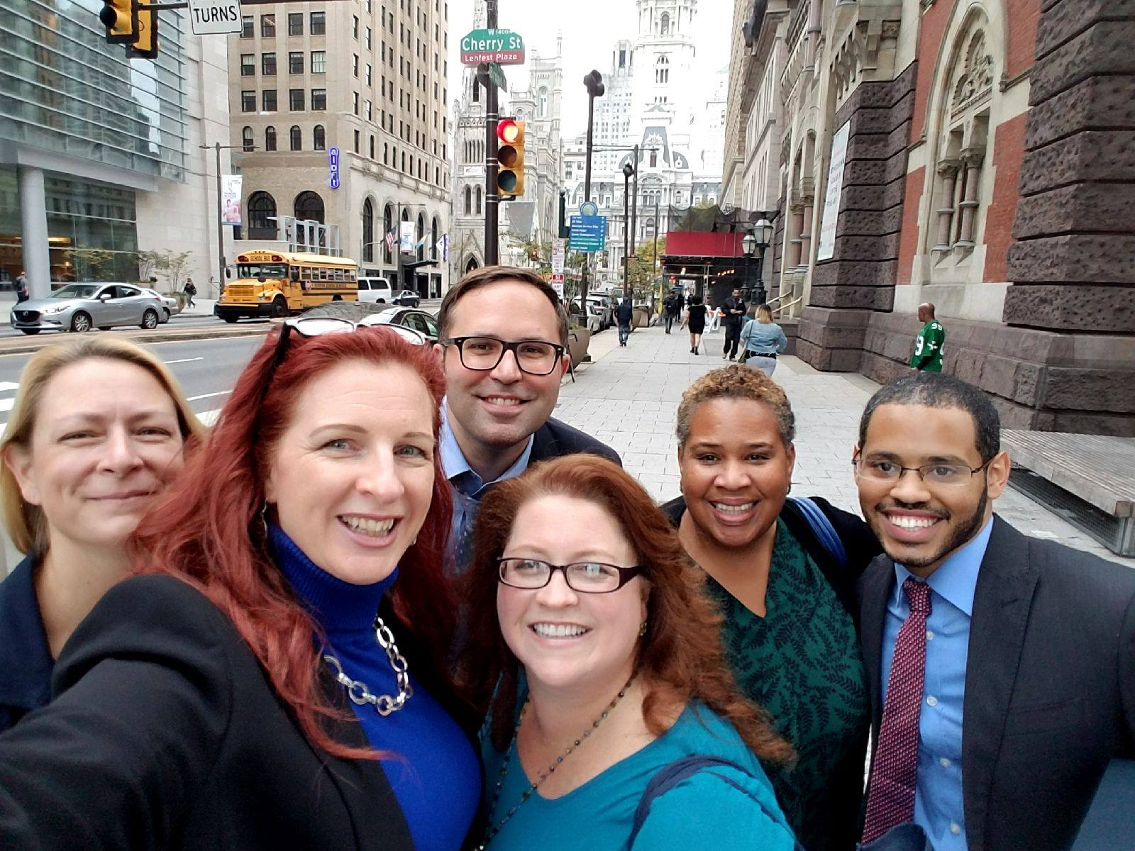 In early November 2017, James joined a team of career coaches and facilitators in Philadelphia assembled by Elisabeth Harney Sanders-Park, author of   The 6 Reasons You'll Get The Job   and   No One Is Unemployable   who presented to a group of 400+ Workforce Development Professionals sponsored by  Pennsylvania's CareerLink .