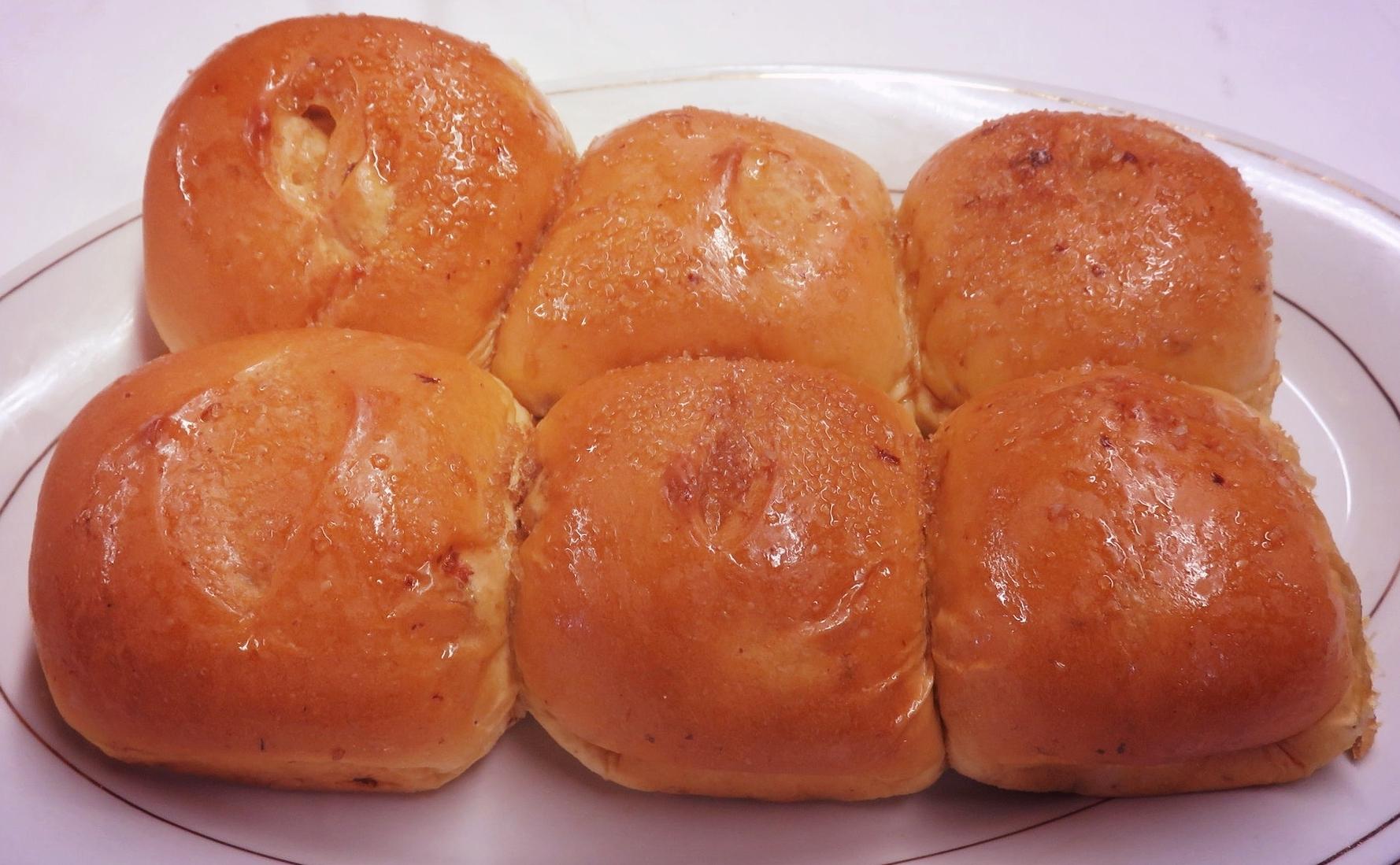 Sweet Bread - 6 Rolls/ Pack
