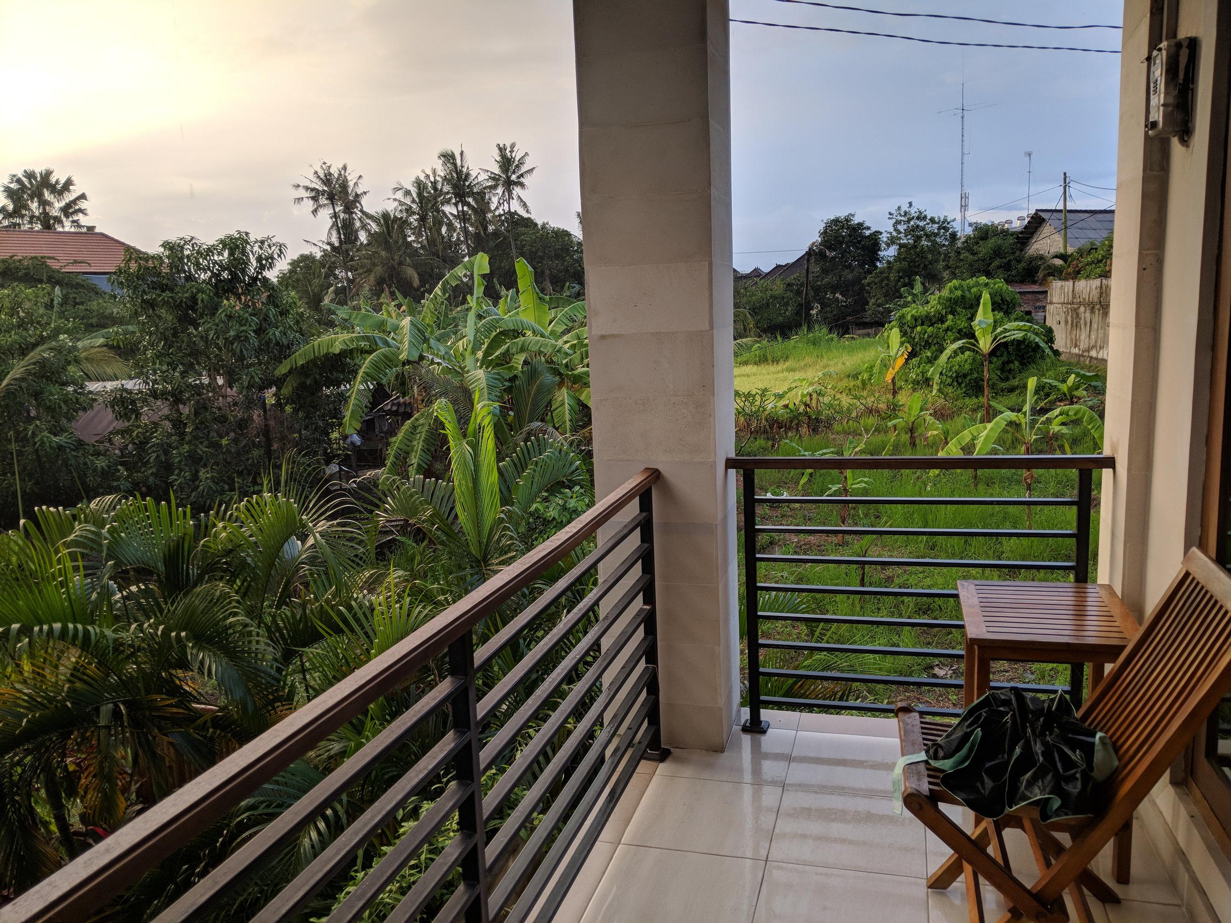Balcony at Bona Kubu