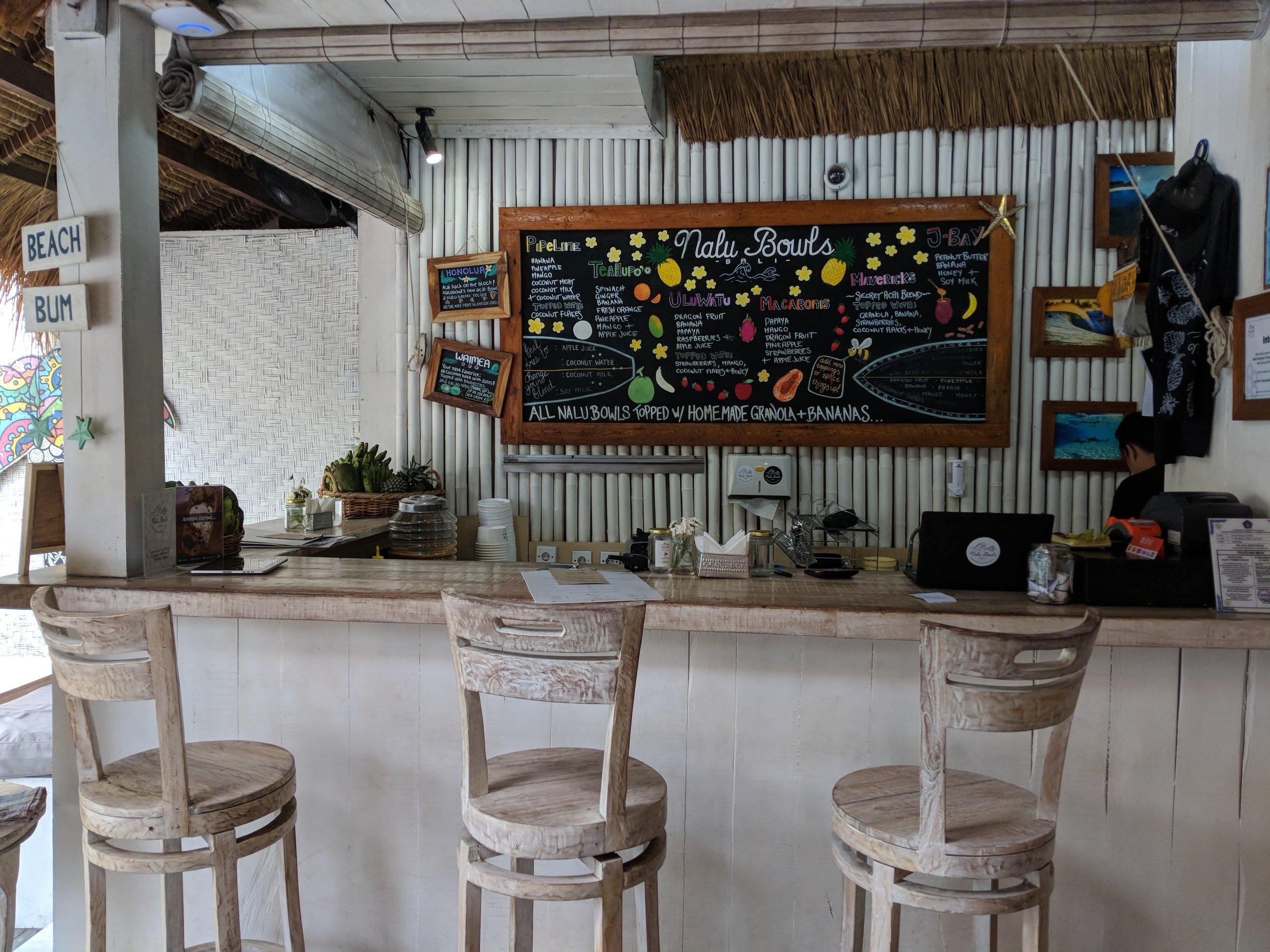 Nalu Bowls Bali