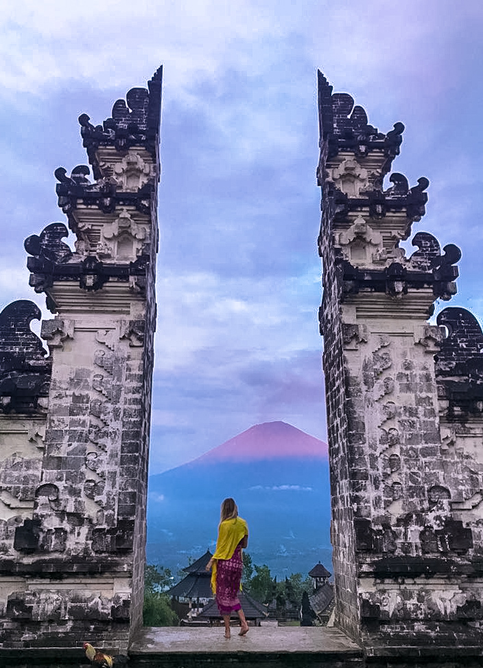 Gates of Heaven and Mount Agung